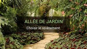 Allee De Jardin Facile : rev tement pour all e de jardin bien choisir ses mat riaux ~ Melissatoandfro.com Idées de Décoration