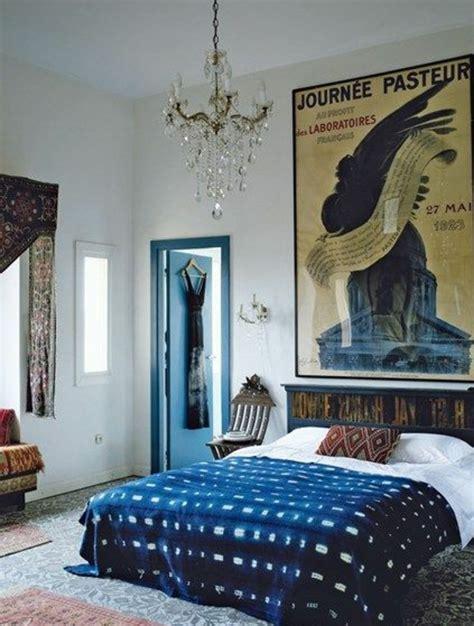 chambre style orientale 1001 idées pour une déco maison couleur indigo