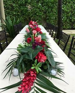 Chemin De Table Tropical : chemin de table tropical exotic chic en 2019 pinterest mariage tropical mariage th me ~ Melissatoandfro.com Idées de Décoration