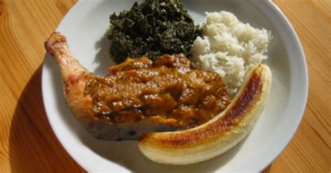 cuisine confo moambe is a traditional and the national dish of the