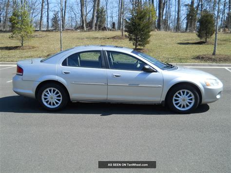 Chrysler Sebring Lxi by 2002 Chrysler Sebring Sedan Lxi Related Infomation