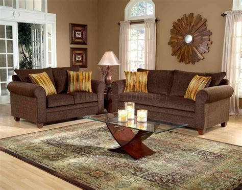 living room wall colors with chocolate brown furniture