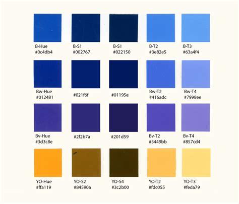 types of colors week 4 color scheme blue and some design work color talks
