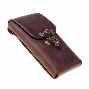 Smartphone Tasche Leder : smartphone handy g rteltasche mit hakenverschluss aus echtem leder ebay ~ Orissabook.com Haus und Dekorationen