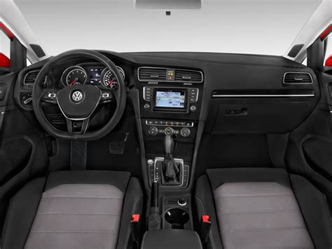 volkswagen dashboard image 2017 volkswagen golf sportwagen 1 8t sel auto