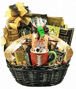 Gridiron Football Themed Snack Food Gift Basket Special