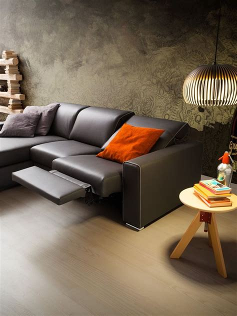 chaise longue relax drive 2xl modern sofa with relax position and chaise
