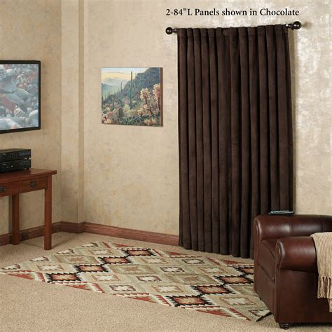 absolute zero eclipse home theater blackout curtain panels