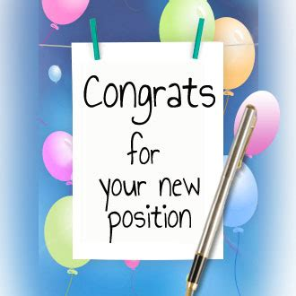 New Position congratulations on your new position quotes new sayings