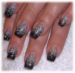Black and silver nail designs pictures to pin on