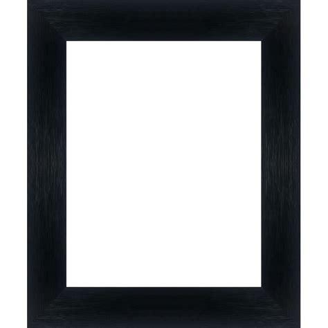 encadrement bois plat stri 233 noir avec verre et dos sur cadre et encadrement