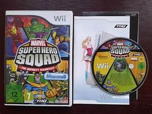 Nintendo Wii Game Marvel Super Hero Squad The Infinity