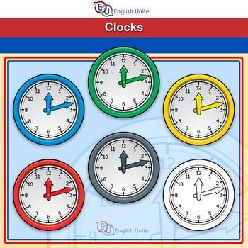 clip art clocks clock hands separate clip art clip