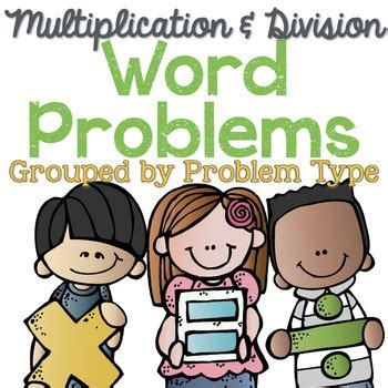 Let's try this in other words, when you divide a board that's nine feet long into four pieces, each piece will be two the answer to the multiplication problem should always be the same as the larger number in the. Multiplication and Division Word Problems by Problem Type | TpT