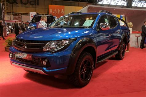 Mitsubishi reveals new limited edition L200 Barbarian SVP ...