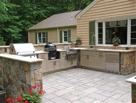 23 Different Outdoor Kitchen Cabinets   Home Design Lover