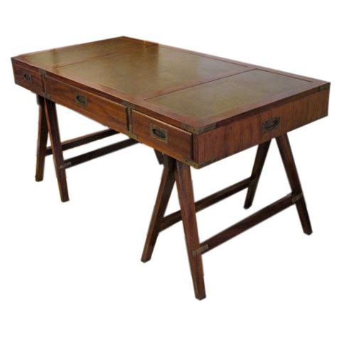 english campaign desk plans  woodworking