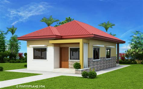 Simple Yet Elegant 3 Bedroom House Design (SHD 2017031