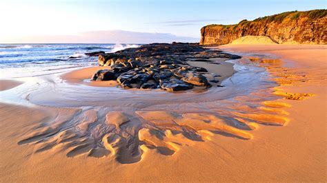 sunny shores australia  windows  desktop wallpaper