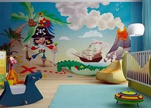Piraten Kinderzimmer Gestalten : fotomural infantil pirata habitaciones tematicas ~ Michelbontemps.com Haus und Dekorationen