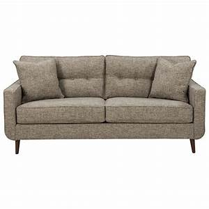 Mid century modern sofa by benchcraft wolf and gardiner for Sectional sofas wolf furniture