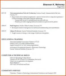 resume no work experience