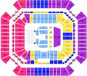 Seating Chart For State Farm Stadium The Rolling Stones 39 No Filter 39 Tour Seating Chart Tickpick