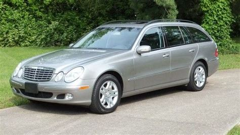 We're sorry, our experts haven't reviewed this car yet. Buy used 04~2004~MERCEDES~E320~4MATIC~AWD~STATION~WAGON in Lexington, Kentucky, United States