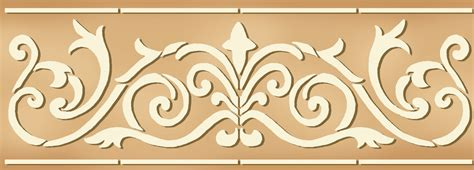 stenciling design stencil border designs for walls images