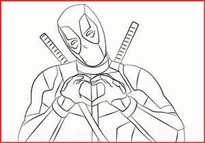 Marvel Deadpool Ausmalbilder Gratis - Rooms Project