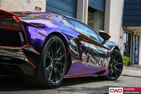 chrome wrapped cars miami car wrap portfolio