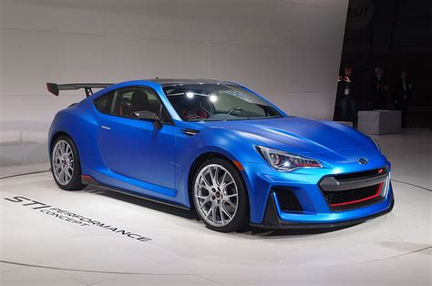 Subaru Car : Subaru Brz Sti Performance Concept Debuts At New York Auto