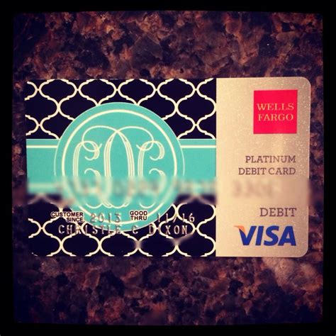 fargo debit card designs monogrammed debit card
