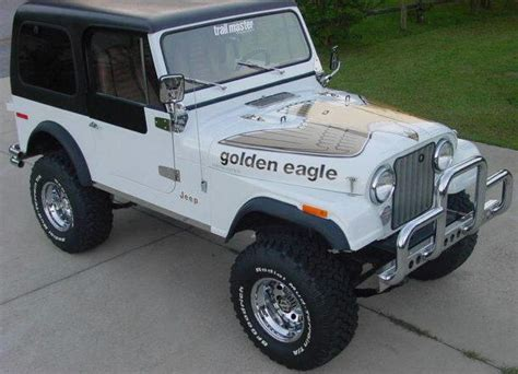jeep golden eagle decal jeep cj renegade golden eagle stickers