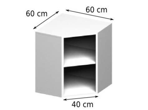 meuble cuisine 30 cm meuble caisson d 39 angle haut vial