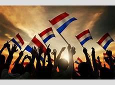Bevrijdingsdag Dat iedereen blij is en de Nederlandse vlag
