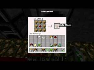 Minecraft  How To Make A Music Box