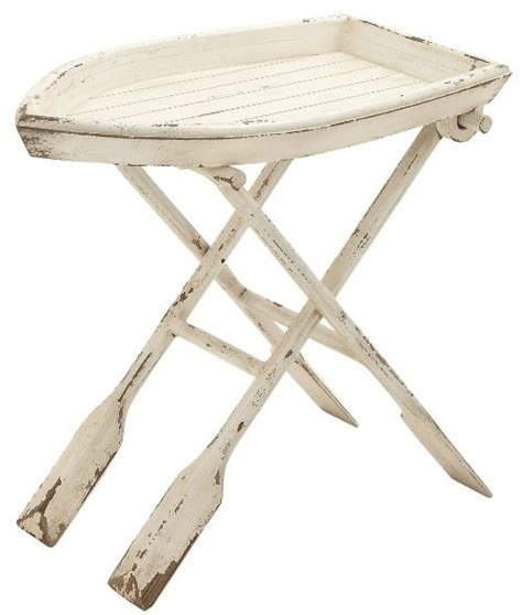 nautical end table nautical boat tray table http www completely coastal