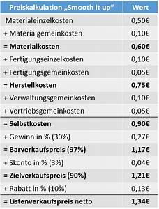 Nettomarge Berechnen : ermittlung gewinn ~ Themetempest.com Abrechnung
