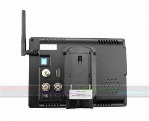 7 Inch Monitor Integrated With 5 8g Receiver  Dvr Recorder
