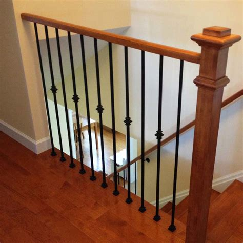 replacing stair spindles customize your stairs with forged iron balusters 1881
