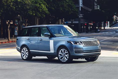 2019 Land Rover Range Rover Suv Vehie