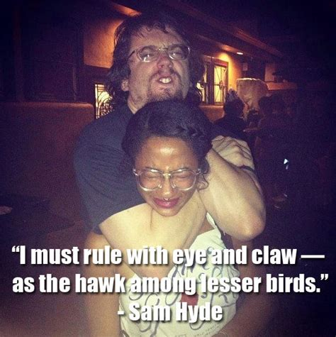 Sam Hyde Memes - vae victis the weak should fear the strong know your meme