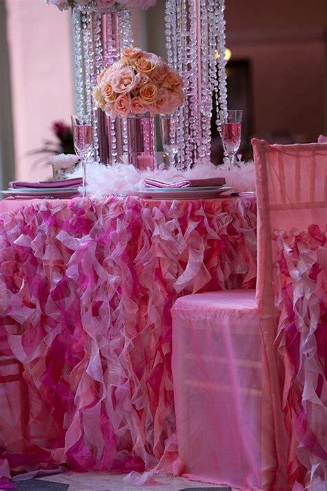 hot pink curly willow linen hot pink ruffle linen