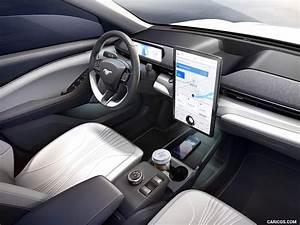 2021 Ford Mustang Mach-E Electric SUV - Interior   HD Wallpaper #34