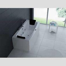Luxus Whirlpool Indoor Badewanne 170x80 + Vollausstattung