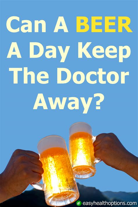 beer  day   doctor  easy health options