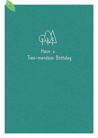 Ecard Wonders Tree Mendous Birthday