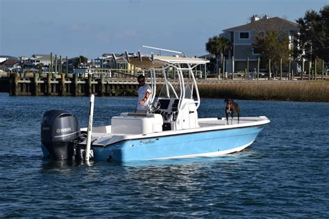 Saltwater Fishing Boat For Sale Florida by 2015 Used Edgewater 240 Inshore Saltwater Fishing Boat For