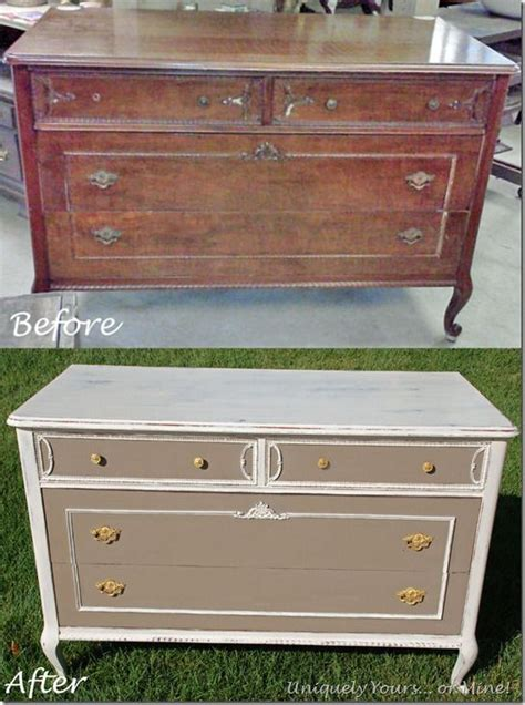 how to refinish a dresser with paint great site for before and after furniture refinishing this is a vintage french chest dresser